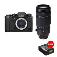 Fujifilm X-T3 Body + XF 100-400mm Resmi Fujifilm Indonesia