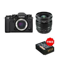 Fujifilm X-T3 Body + XF 16mm F1.4 Resmi Fujifilm Indonesia