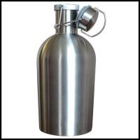 Ready Stock Botol Minum Bir Stainless Steel Beer Hip Flask 64Oz -