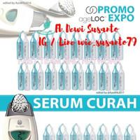 Harga 10 pasang facial gels serum curah face gel wajah galva spa ecer no | antitipu.com