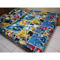 Sprei Homemade Cantik SIZE 120 X 200 Motif Batman VS Superman