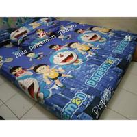 Sprei Homemade Cantik SIZE 200 X 200 Motif Blue Doraemon Tokyo
