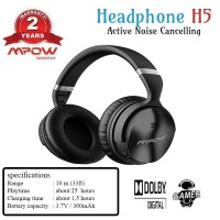 Mpow Bluetooth Headphones ANC Over Ear With Mic BH143CB
