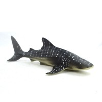Top Brand 28cm Realistic Whale Shark Sea Animal Figure Solid Plastic