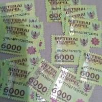 -materai 6000