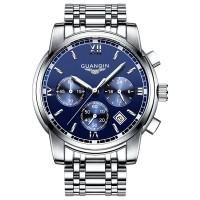 GUANQIN Men Wristwatch Fashion Chronograph Watch Waterproof