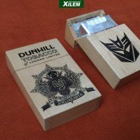 HOT SALE Kotak Rokok Dunhill 20, Custom Ukir Laser Terjarmin