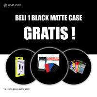 CASE HITAM SLIM SOFTCASE BLACKMATTE CASING HAPE MURAH VIVO TIPE V/X/Y