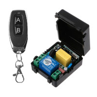 220V Relay 1Ch Wireless Remote Control Switch Transmitter Receiver T6