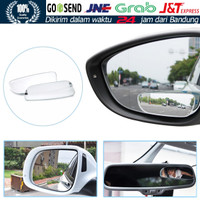2 Pcs Kaca Spion Wide Angle Kaca Cembung Wide Angle 360 Blind Spot