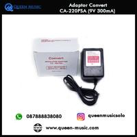 Adaptor efek Convert CA220PSA - 9V 300mA