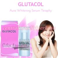 pemutih wajah mengatasi penuan kulit mengencang wajah glutacol serum