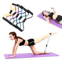 Tali bantu olahraga Gym Yoga - Pilates stretch Rope