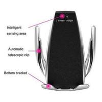 Phone Holder With Wireless Charger Smart Sensor Series - Perak