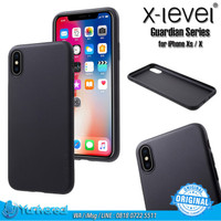 X-LEVEL iPhone Xs X TPU Soft Case Guardian Ultrathin Matte Frosted 360