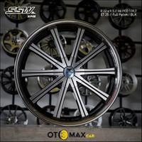 Velg Mobil SSW (S145) Ring 22 Full Polish/BLK