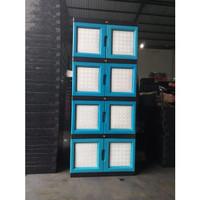 lemari Plastik lemari pakaian HEXA jumbo - susun 4