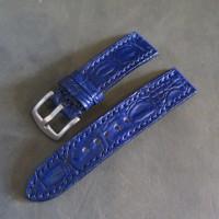 18 20 22 24 26 Croco Leather Strap Tali Jam Tangan Kulit sapi