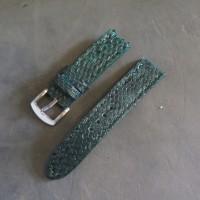 18 20 22 24 26 Snake Leather Strap Tali Jam Tangan Kulit Ular Asli