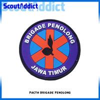 Pacth Karet Pramuka Brigade Penolong