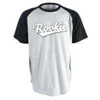 ROOKIE RAGLAN KIDS T- SHIRT - GREY