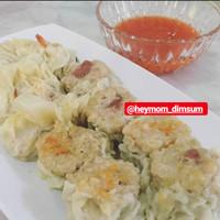 Dimsum Siomay Ayam & Pangsit Udang Frozen 50 Pcs
