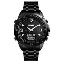 Jam Tangan SKMEI 1464 - Jam Tangan Smartwatch OLED Compass Pedometer