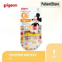 PIGEON Silicone Pacifier Dot / Empeng Mickey size L