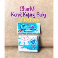 RM0085CM art 133 Korek Kuping Bayi 100pcs Charmi Baby Cotton Buds