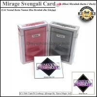 STOK TERBATAS Mirage Svengali Card Art Alat Sulap