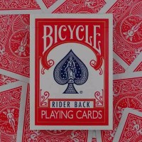 TERBARU Gimmick Alat Sulap Kartu Bicycle Rider Back Regular Card Magi