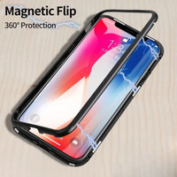 Magnetic Case Oppo A3S Premium 2in1 Fasion Case