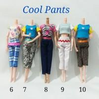 Baju Barbie celana panjang