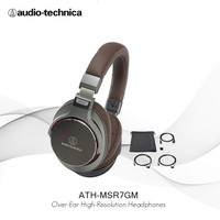 Audio-Technica ATH-MSR7 GM Over Ear HighResolution Headphones-GoldMeta
