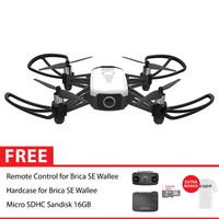 Brica B-Pro5 SE Wallee Drone 720p Remote Hard Case Kit + 16GB White