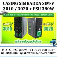 Casing PC Simbadda CST 3010/3020n - 380W Power supply 24 pin