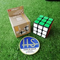 Rubik Magic Cube YongJun 3x3 GuanLong, Black Base, Sticker