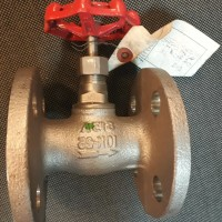 "globe valve sus 304 1"" 10k kitz flange"