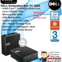 DELL Embedded Box PC 5000 Intel Core i5-6440EQ/8GB/500GB SATA/DOS/3YR