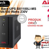 APC Back-UPS BX1100LI-MS 1100VA/550 Watts 230V