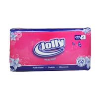 JOLLY TISSU 0587 FACIAL SOFT 250LBR