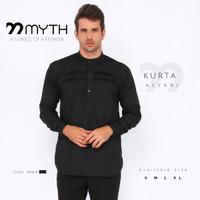 MYTH/ Baju Kurta Pria/ Gamis/ Kemeja/ Slimfit/ Baju Koko/ Baju Songket