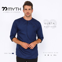 MYTH/ Baju Kurta/ Gamis/ Baju Muslim/ Polos/ Baju Koko/ Kemeja Slimfit