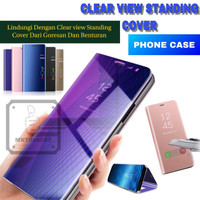 SAMSUNG GALAXY M30 M305 CLEAR VIEW FLIP COVER HARD CASE STANDING