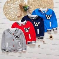 Jaket bayi import cotton 6-24bulan