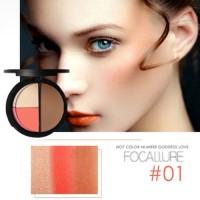 Focallure Blush on , hightligher and contur powder FCR025
