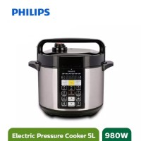 Philips HD2136 Electric Rice Pressure Cooker 5Liter Garansi Resmi