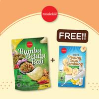 Keripik Bumbu Betutu Bali + Keripik Pisang Lembang original/coklat