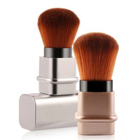 1PCS Retractable Travel Blush On Makeup Brush Kabuki Powder K188