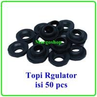 Seal Sil Ring O Topi Karet Pengaman Regulator Gas 50 pcs